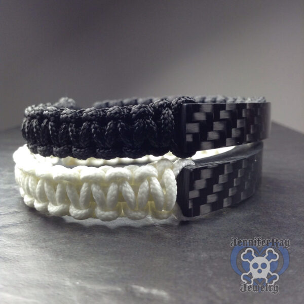 Carbon Fiber with GITD band bracelet