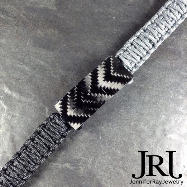 shiny v weave carbon fiber