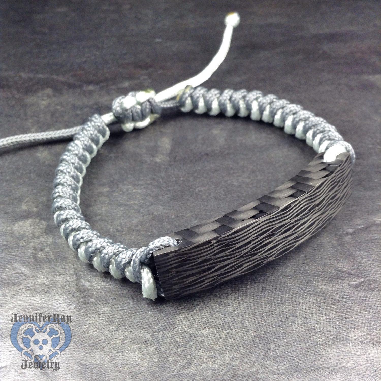 Sidecut Carbon Fiber Waves Bracelet
