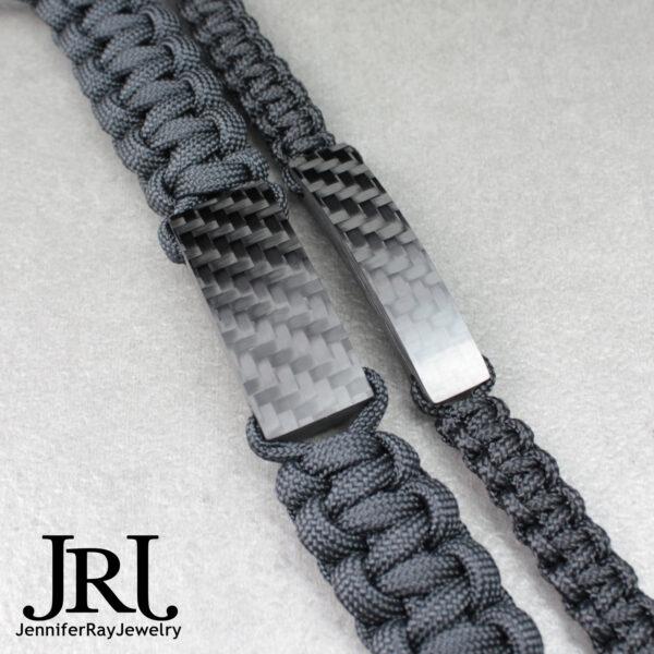 tactical carbon bracelet