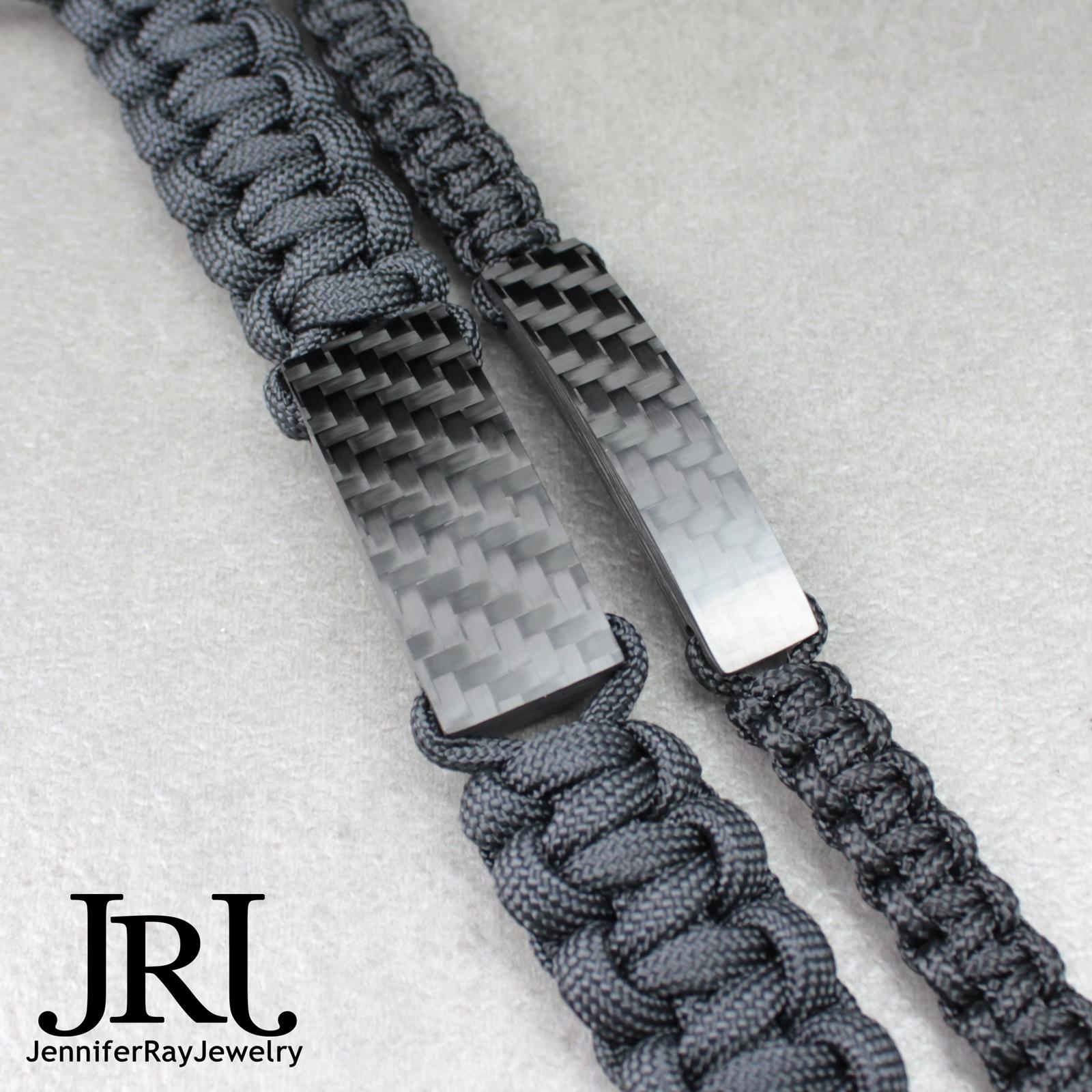 Tactical Clic Carbon Fiber Bracelet